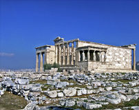 Erechtheion, Acropole Photo libre de droits