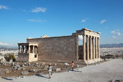 Erechtheion, Acropolis. Athens. Greece. Royalty Free Stock Images