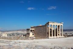 Erechtheion, Acropolis. Athens. Greece. Stock Image