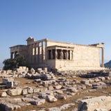 Erechtheion ancient Greek temple Stock Photography