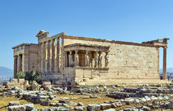 Erechtheion, Athens Stock Photo