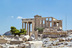 Erechtheion, Athens Stock Photography