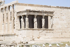 Erechtheion in Athens Royalty Free Stock Image