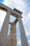 Erechtheion au parthenon Athènes Photos stock