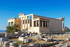 Erechtheion, Grecia Fotos de archivo