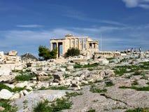 Erechtheion, Grecja zdjęcie royalty free