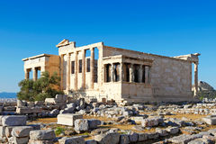 Erechtheion, Greece Stock Photos