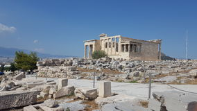 The Erechtheion Stock Image