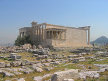 Erechtheion Temple, Acropolis Royalty Free Stock Photos