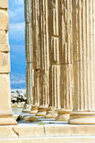 Erechtheion temple Acropolis in Athens Stock Photos