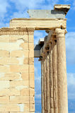 Erechtheion temple Acropolis in Athens Royalty Free Stock Image
