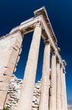Erechtheion temple on Acropolis, Athens stock images