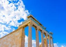Erechtheion temple of Acropolis Royalty Free Stock Image