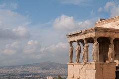 Erechtheion Royalty Free Stock Photography