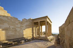 The Erechtheum Stock Photo
