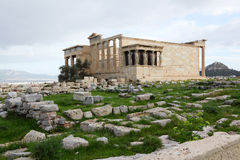 Erechtheum, Acropolis of Athens in Greece Royalty Free Stock Photo