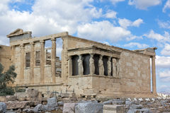 Erechtheum, Acropolis, Greece Fotografia de Stock Royalty Free