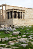 Erechtheum is an ancient Greek temple Royalty Free Stock Images