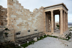 Erechtheum is an ancient Greek temple Royalty Free Stock Photography