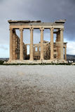 Erechtheum is an ancient temple in Acropolis Royalty Free Stock Images