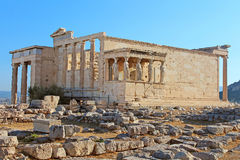 Erechtheum, Athens Royalty Free Stock Images