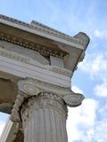 Erechtheum de la acrópolis Imagen de archivo libre de regalías