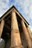 erechtheum greece för acropolisathens detalj Royaltyfri Bild