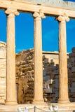 Erechtheum temple in Acropolis Stock Photography