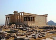The Erechtheum Temple Acropolis Athens Greece Stock Photos