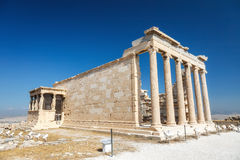 Erechtheum temple in Athens, Greece Stock Photo