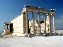 The Erecthion, Acropolis Royalty Free Stock Image
