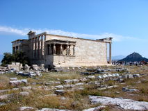 The Erecthion, Athens Royalty Free Stock Photography