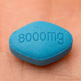Erectile dysfunction tablet Royalty Free Stock Image