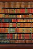 Eredità culturale - libreria dell'annata fotografie stock