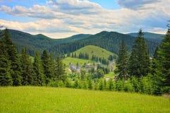 Eredità dell'Unesco - monastero di Sucevita in Romania Fotografie Stock