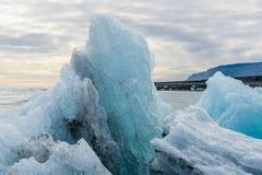 Eregerat isberg fotografering för bildbyråer