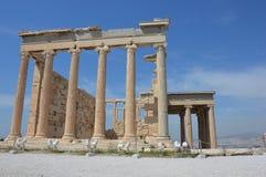 Erehteion in Acropolis Stock Photography