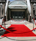Ereignis des roten Teppichs Stockfotos
