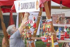 Ereignis des Vinkovci-Herbstes Lizenzfreie Stockfotos