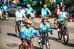 Ereignis-Fahrrad für Mutter stockbild
