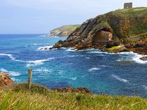 Erem Santa Justa, Cantabria Zdjęcia Royalty Free