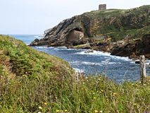 Erem Santa Justa, Cantabria Fotografia Royalty Free
