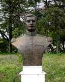 Eremia Grigorescu,在Marasesti Mausoluem的雕象将军 库存图片