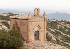 Eremitério de Sant Joan na montanha de Montserrat Foto de Stock