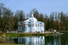 Eremitério do pavilhão do verão em Tsarskoe Selo Imagem de Stock Royalty Free