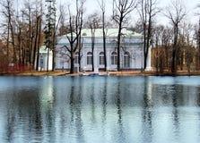 Eremitério do pavilhão do verão em Tsarskoe Selo Imagens de Stock Royalty Free