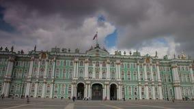 Eremitério St Petersburg Timelapse 4K filme