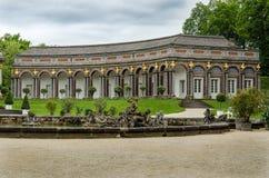 Eremitage à Bayreuth Image libre de droits
