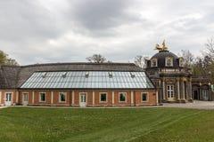 Eremitage, palácio velho em Bayreuth, Alemanha, 2015 foto de stock