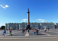 Eremitage  in St. Petersburg Stock Photos